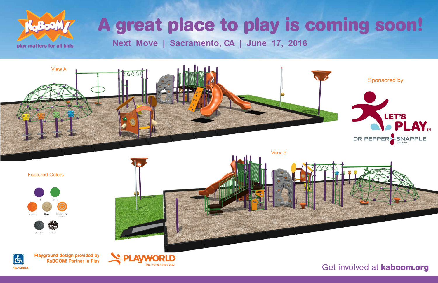 We Need You! Help us build a playground at our family shelter!
