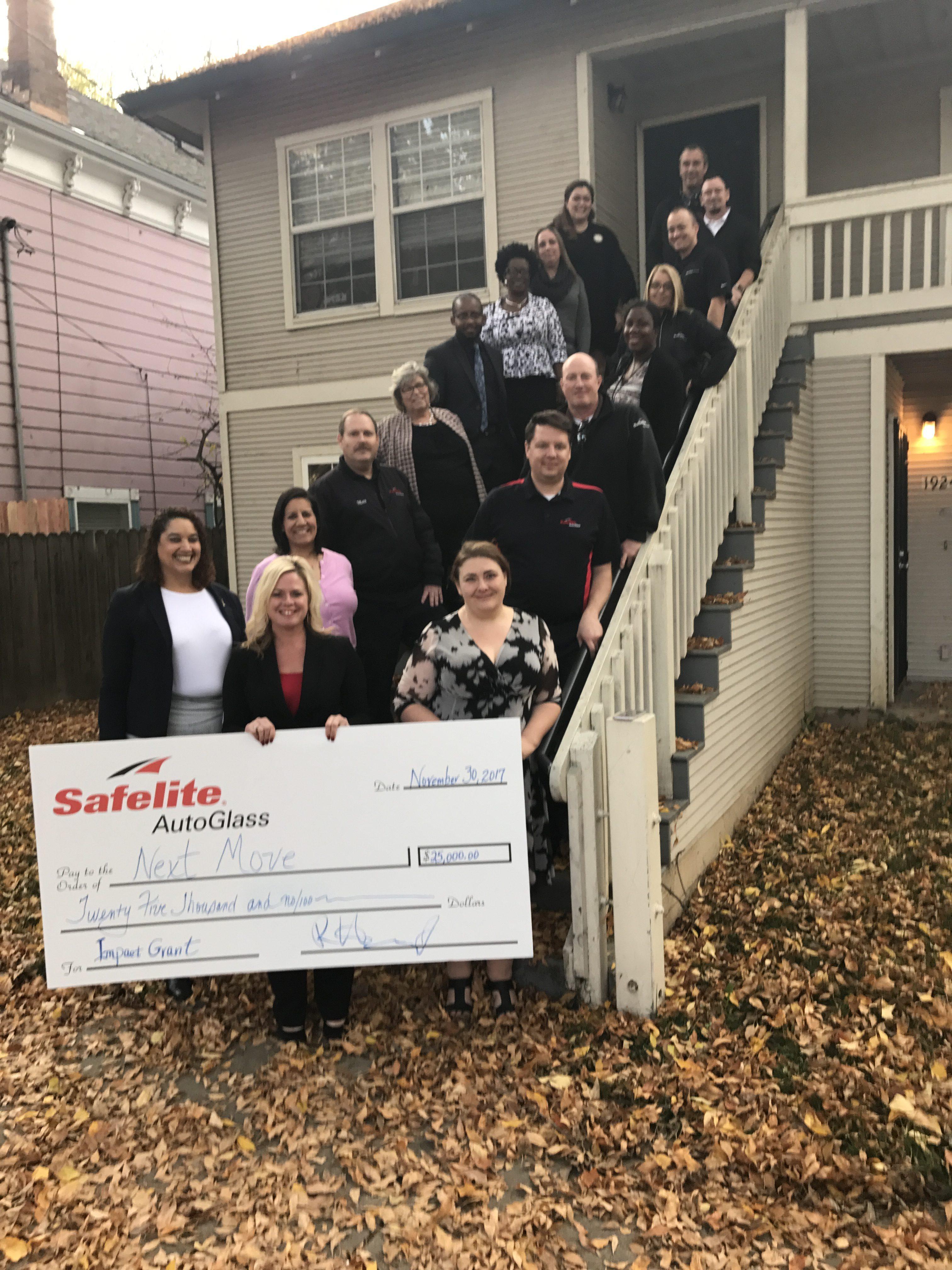 Safelite AutoGlass Grants $25,000 for Shelter