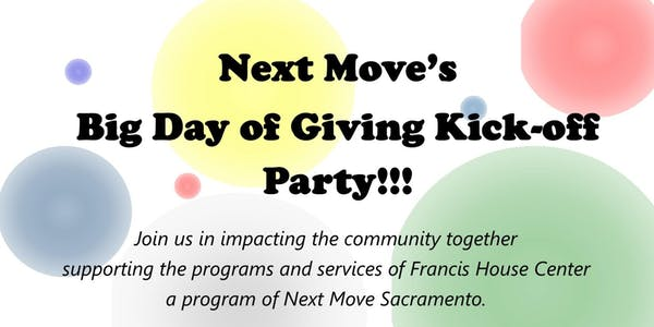 Big Day of Giving Kick-Off Party